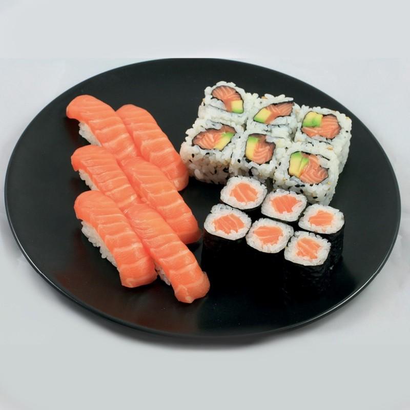 Trio 6 Sushi, 6 Maki, 6 California Tout Saumon